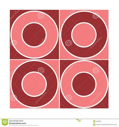 pattern circle pink seamless red circle pattern royalty free stock images
