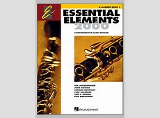 Essential Elements 2000, Book 1 For Clarinet (Book Only ... Music Note Png