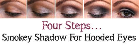 Eyeshadow Hooded Tutorial smokey shadow for hooded mikhila