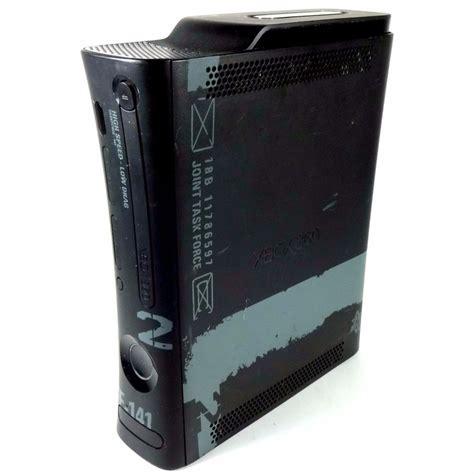 xbox 360 elite console only microsoft xbox 360 elite modern warfare 2 limited edition