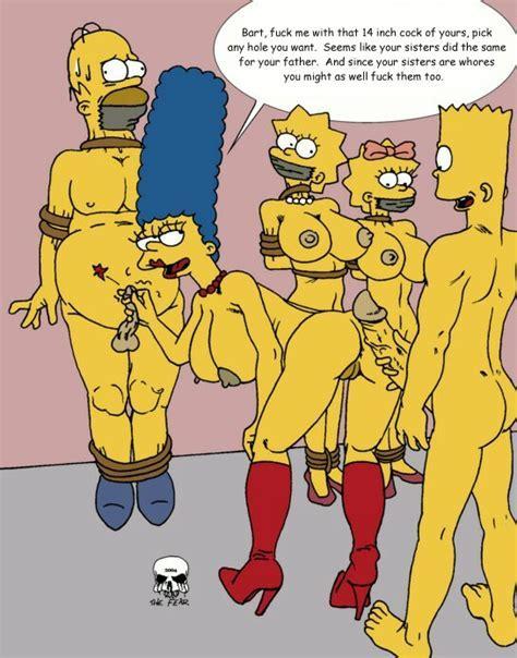 Xbooru Ass Bart Simpson Bent Over Bondage Boots Cuckold Homer Simpson Incest Lisa Simpson