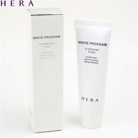 Cleansing Foam 50 Ml box korea mini hera white program cleansing foam 50ml best price and fast shipping