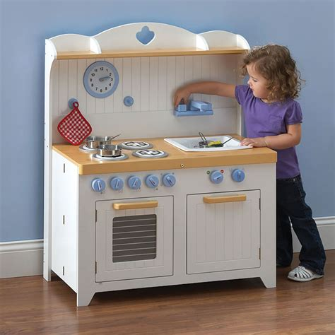 Childrens Kitchen Playsets by Chef S Foldaway Kitchen Playset Hammacher