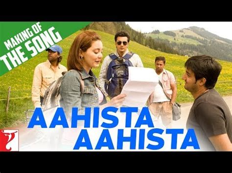 bachna ae haseeno songs download making of the song aahista aahista bachna ae haseeno