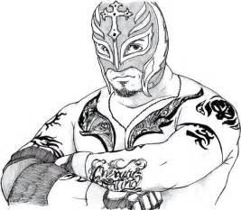 rey mysterio coloring pages fablesfromthefriends