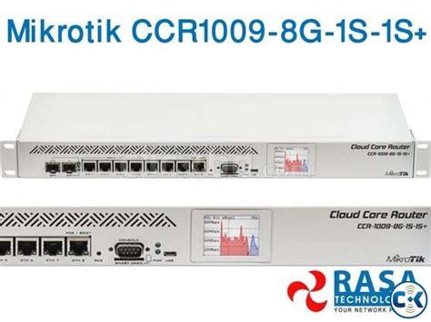 Mikrotik Routerboard Ccr1009 8g 1s mikrotik ccr1009 8g 1s 1s clickbd