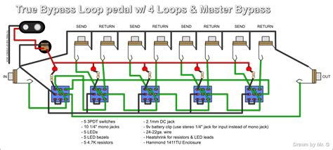 pedal true byp schematic pedal get free image about