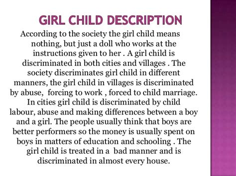 Save The Child Essay In by Essay On Child Foeticide In