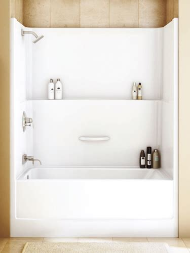 one piece acrylic tub shower for pinterest one piece shower bathtub 171 bathroom design