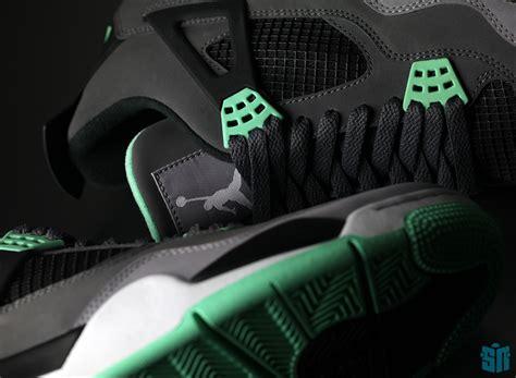 Sepatu Air 4 Green Glow air iv quot green glow quot sneakernews