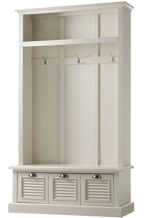 Entryway Storage Locker Furniture shutter locker storage trees entryway furniture homedecorators mud room