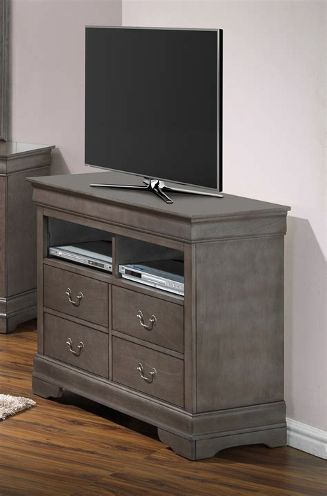 bedroom set with media chest glory furniture g3105 tv chest in grey g3105 tv media