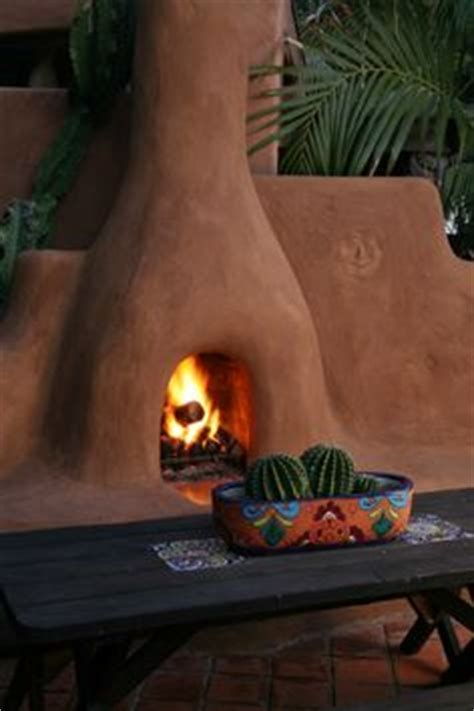 outdoor mexican fireplace 1000 ideas about adobe fireplace on adobe