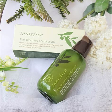 Harga Produk Innisfree Di Senayan City innisfree green tea seed serum review innisfree
