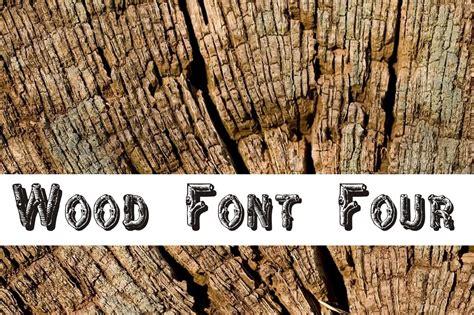 wood font  display fonts creative market