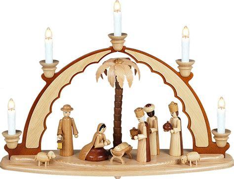 schwibbogen beleuchtung schwibbogen mit beleuchtung christi geburt natur