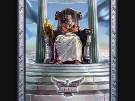 imagenes zeus dios griego mitologia griega dioses del olimpo youtube