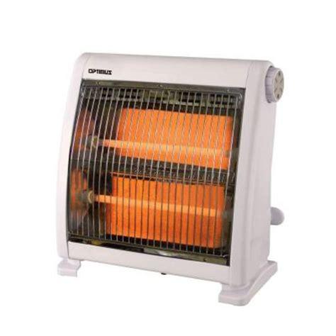Heater Home Depot by Optimus 400 Watt To 800 Watt Infrared Quartz Radiant