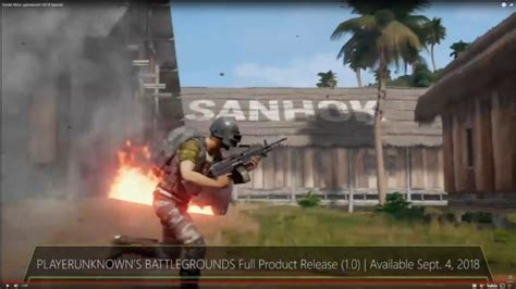 pubg xbox one 1 0 version coming september 4th with sanhok