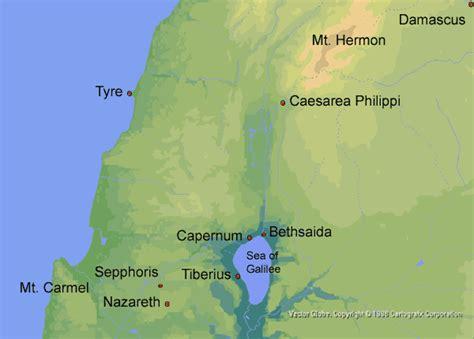 caesarea philippi map paper 157 at caesarea philippi opad one page a day