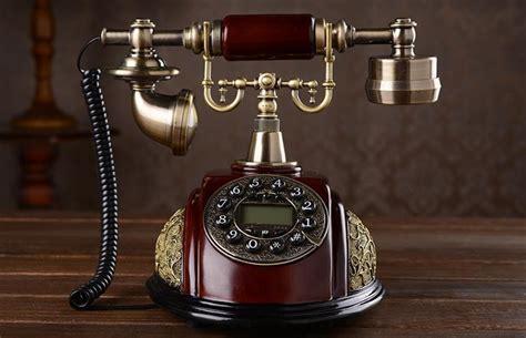 american style antique rotating telephone fashion phone fashioned vintage telephone