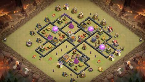 layout war th8 12 base layouts for 2017 farming pushing clan war th8