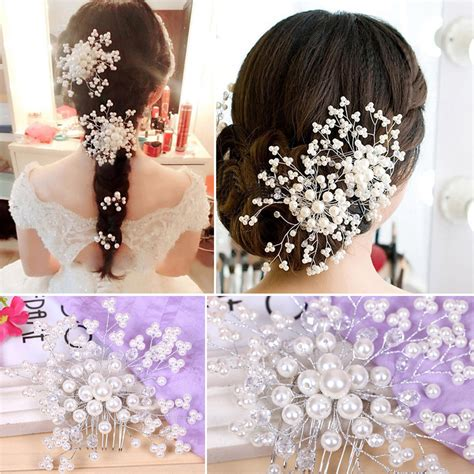 5 Bridal Hair Accessories To by Wedding Hair Accessories Pearl Hair