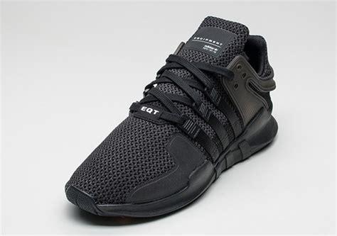 Sepatu Sneakers Adidas Originals Eqt Support Adv Black White adidas eqt support adv black sneaker bar detroit