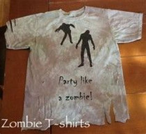 zombie shirt tutorial 84 best images about zombie birthday party theme on