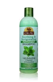 Scalp Detox With Peppermint by Okay Peppermint Shoo Soothing Invigorating 12oz