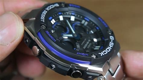 casio g shock g steel gst s100d 1a2 indowatch co id