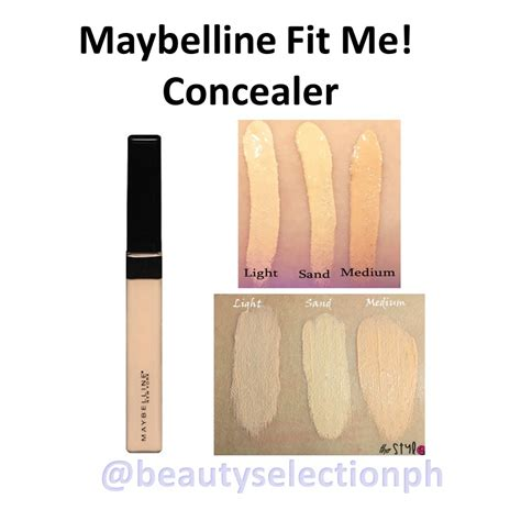 Maybelline Fit Me Foundation Review Indonesia maybelline fit me concealer review review n