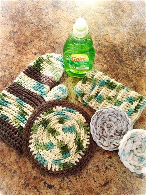 Kitchen Crochet Ideas by 17 Best Images About Crochet Kitchen Pattern Downloads On