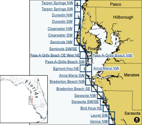 florida west coast map central florida west coast map