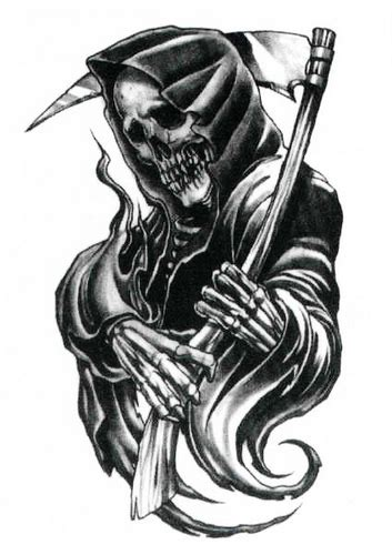 grim reaper tattoo design 48 horrifying grim reaper designs