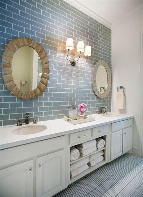 Describing A Bathroom In 35 Blue Grey Bathroom Tiles Ideas And Pictures