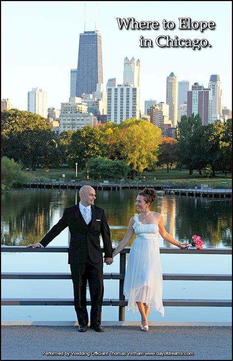 wedding ceremony after eloping eloping or elopement ceremony in chicago