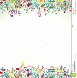 abstract background colorful music notes stock images image 33378694