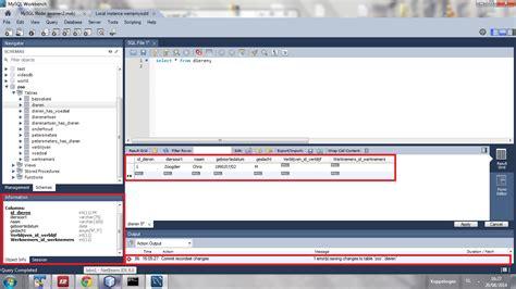 format date mysql workbench mysql workbench doesn t commit changes stack overflow