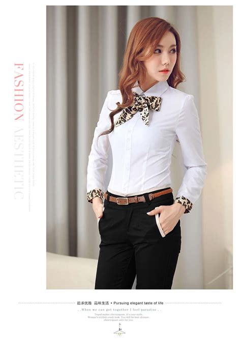 Kemori Shirt Kemeja Wanita Kemeja Import Murah 1 kemeja putih pita leopard import 2016 model terbaru