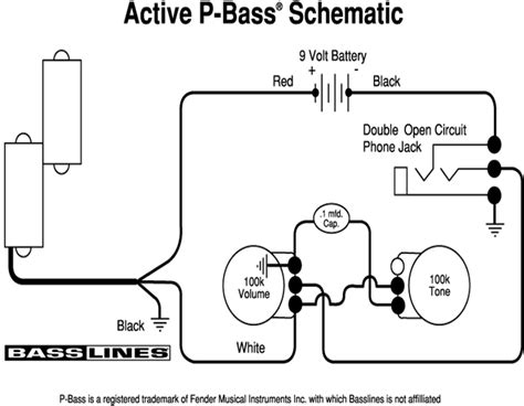 p bass wiring diagram efcaviation