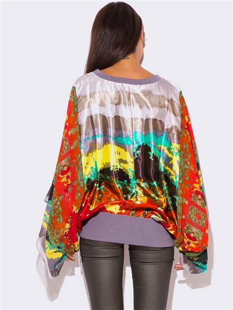 size kimono sleeve tunic top modishonlinecom