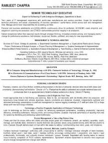 Technical Program Manager Resume Sle by Two Page Project Manager Cv Template Resume For It