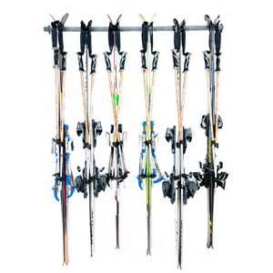 wall ski rack