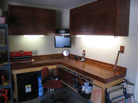 garage workbench and cabinet plans garage cabinets and work bench by supervato