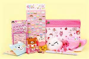 kawaii box october 2014 cutest monthly kawaii subscription box