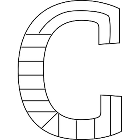 alphabet coloring pages uppercase lower case letter c coloring coloring pages