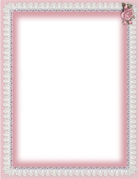 stationary templates 8 best images of free printable paper frames birger
