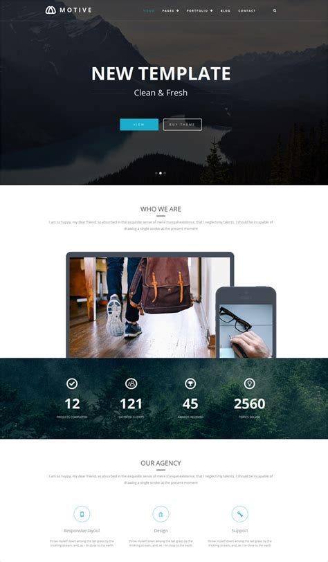 theme wordpress unik unik released 2 new wordpress themes on the way