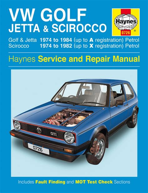 how cars run 1984 volkswagen golf user handbook volkswagen vw car van and pick up manuals haynes clymer chilton workshop original